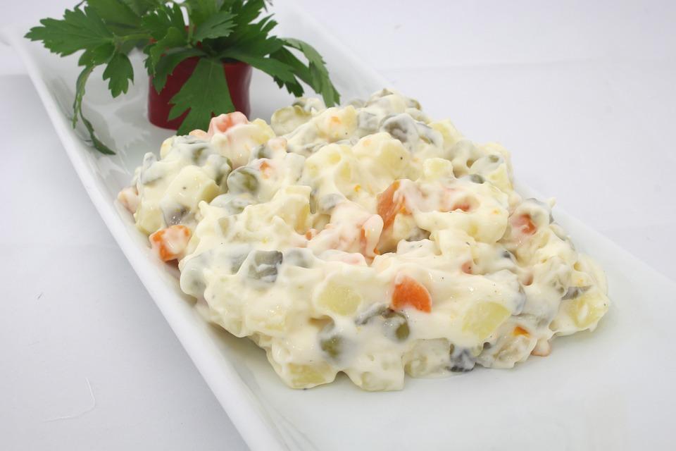 Zdravší a chutný – zemiakový šalát bez zemiakov